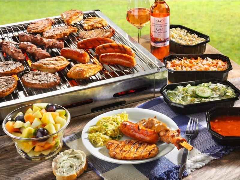ALS Barbecue Menu