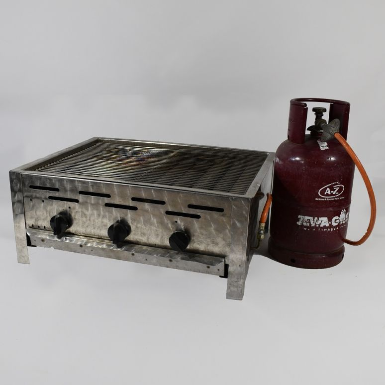 Grote barbecue inclusief gasfles