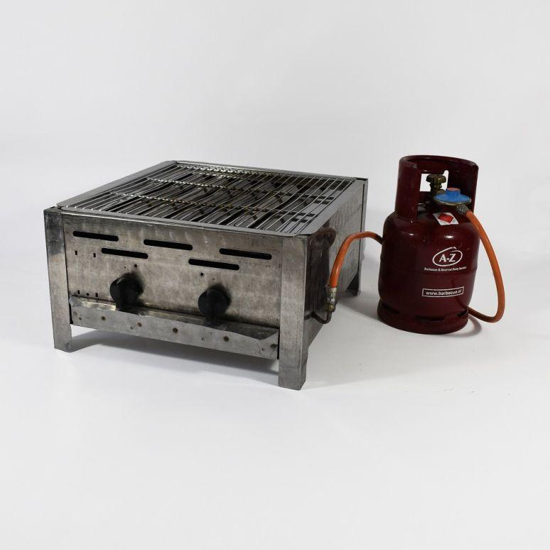 Middel barbecue inclusief gasfles
