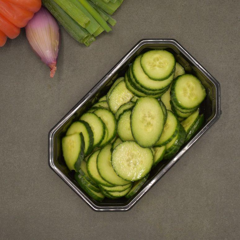 Komkommerschijven (4-5 p.)