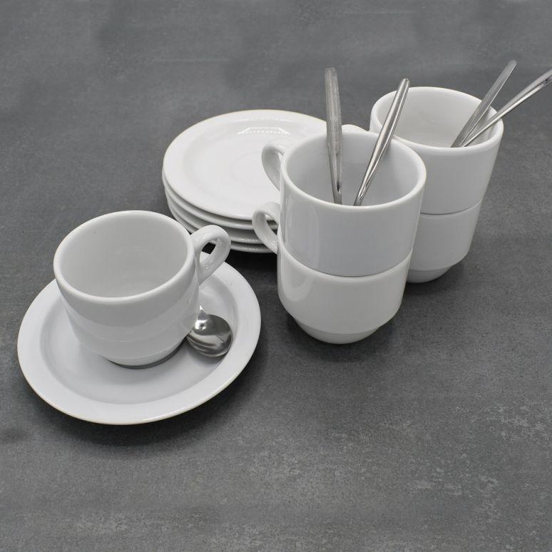 Set kop en schotel (5 stuks)