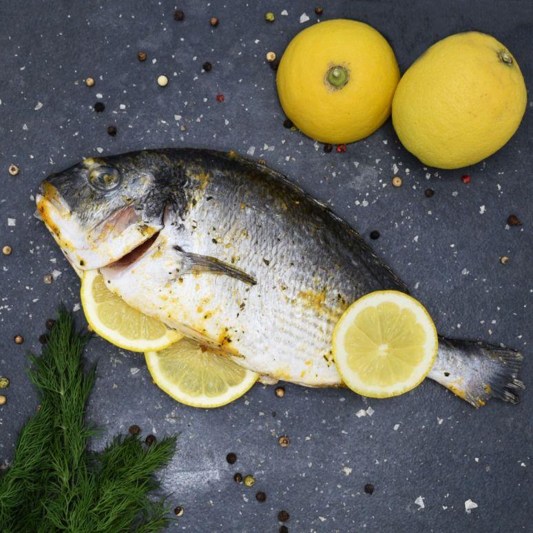 Spicy Lemon Dorade in Visklem (2-3 p.)
