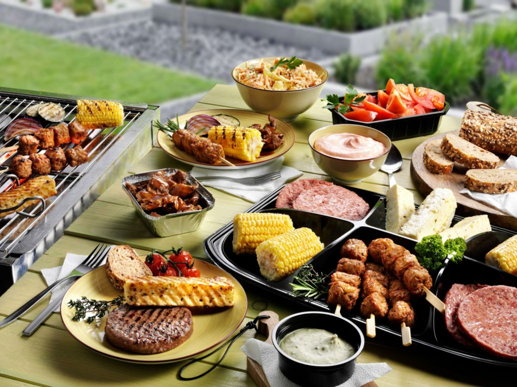 Vegetarisch Barbecue Menu Bewust