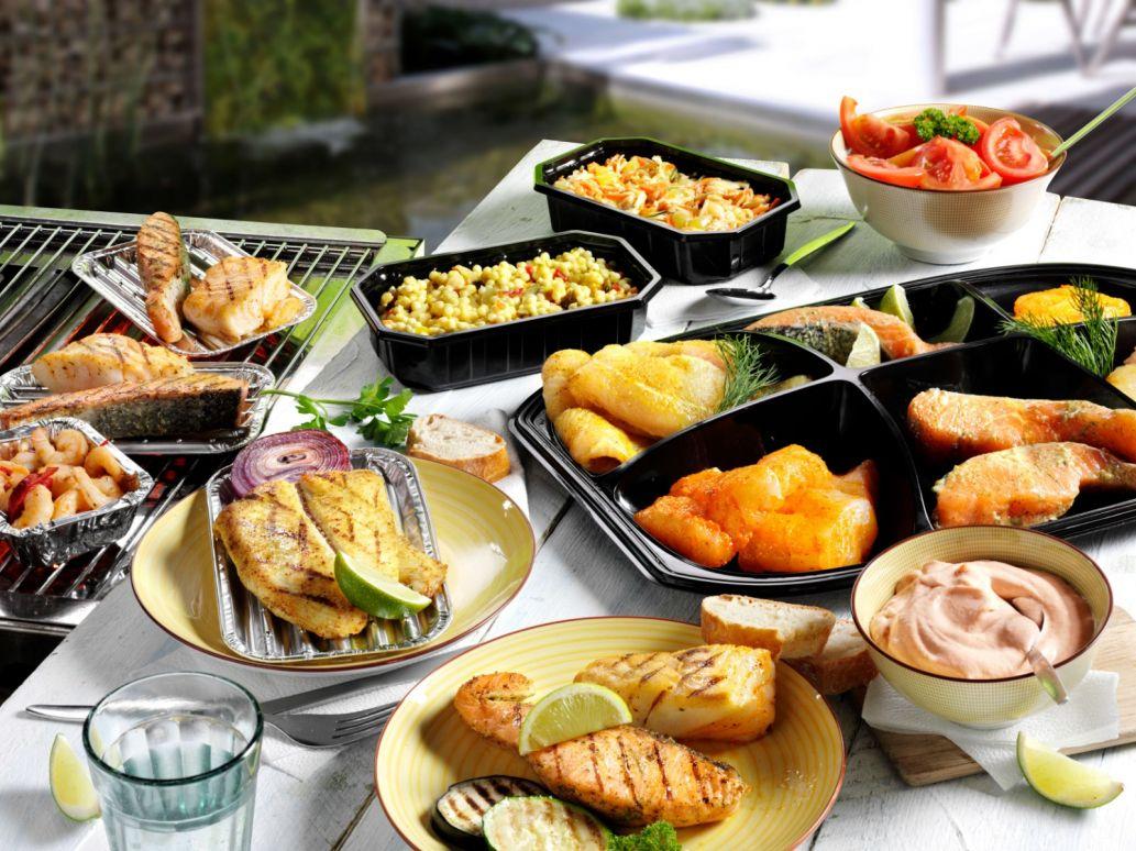 Vis Barbecue Menu Royal