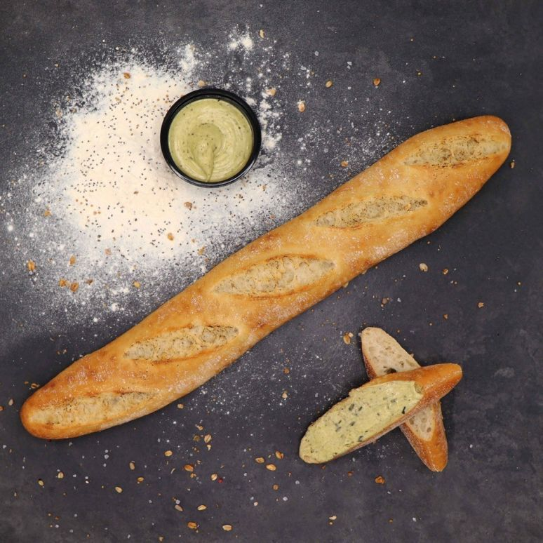 Wit Stokbrood met Kruidenboter