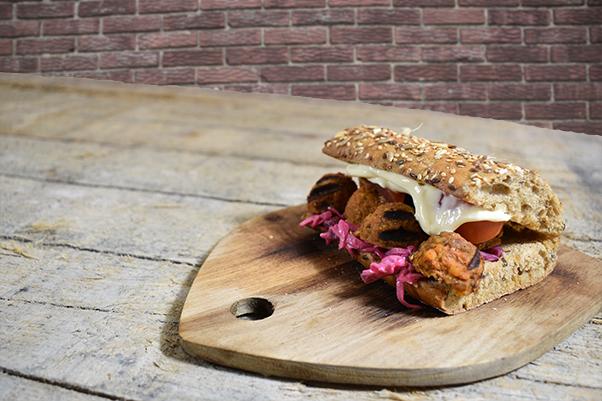 De Clubsandwich, maar dan vegetarisch!